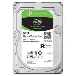 【綠蔭-免運】Seagate新梭魚BarraCuda Pro 6TB 3.5吋 7200轉桌上型硬碟(ST6000DM004)