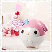 小花花日本精品♥Hello Kitty 美樂蒂加溼器 提升皮膚保水度 加濕器 粉色臉頭23006607