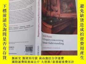 二手書博民逛書店An罕見Enquiry concerning Human Understanding(書名以圖片為準)Y282
