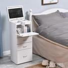 梳妝台臥室小戶型現代簡約網紅化妝桌收納櫃一體小型迷你化妝台櫃 ATF 夏季狂歡