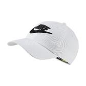 Nike 帽子 NSW Heritage86 Cap 白 黑 女款 老帽 運動休閒 【ACS】 CQ9222-100