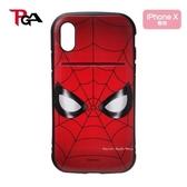 日本正版限定 漫威 MARVEL 系列  蜘蛛人 大臉   iPhone X 對應 手機保護殼套 / 手機殼