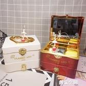 音樂盒 創意跳舞旋轉小女孩音樂盒上鍊發條八音盒送兒童女生生日禮物禮品