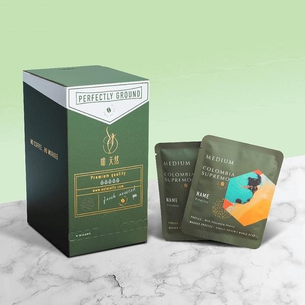 【啡 天然】單品濾掛 哥倫比亞單品17目 義式咖啡 20入/盒