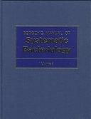 二手書博民逛書店《Bergey s Manual of Systematic Bacteriology》 R2Y ISBN:0683090615