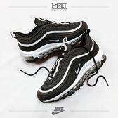 IMPACT Nike Air Max 97 Wmns  GS Logo 黑白 子彈 氣墊 反光 921522-009