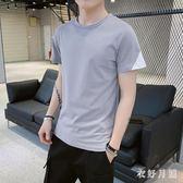 男士短袖T恤2019新款潮流夏季潮牌半袖韓版休閒T恤 QW3773【衣好月圓】