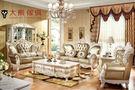 【大熊傢俱】 RE919 新古典沙發 法式 真皮 凡賽宮 實木沙發 歐式沙發美式新古典   皮沙發 巴洛克