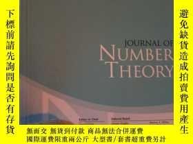 二手書博民逛書店Journal罕見of Number Theory Volume
