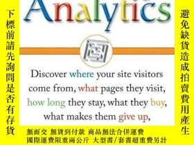 二手書博民逛書店Google罕見AnalyticsY256260 Mary E. Tyler Wiley 出版2006