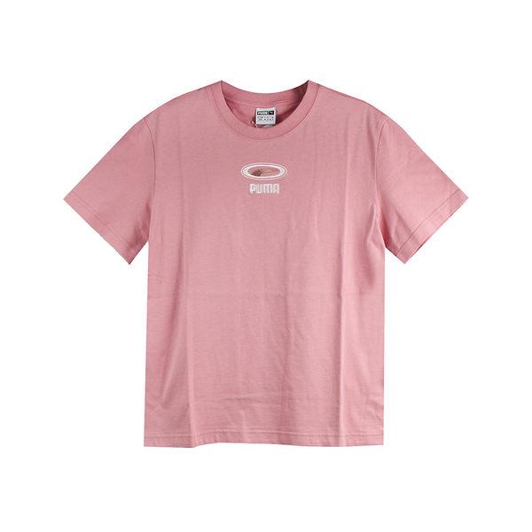 PUMA 女 流行系列CELL OG刺繡短袖T恤(F) 圓領T(短) - 84465316