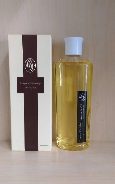 原裝進口 Fragrant Workshop 擴香花精油補充瓶250ML (GASMINE茉莉)