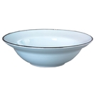 【Luzerne】陸升瓷器 TinTin  22cm 深湯盤-藍色  /TT2120022