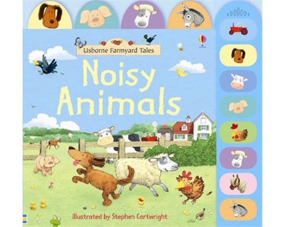 Noisy Animals 農場的動物夥伴 精裝硬頁有聲書