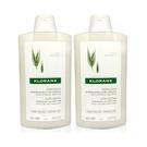 KLORANE 蔻蘿蘭 燕麥全效溫和洗髮精 400ml 兩入組