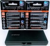 (加贈8入電池盒) Panasonic eneloop pro 3號 (8顆) 2550mAh 低自放電電池 【AA】 充電電池