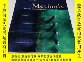 二手書博民逛書店Methods罕見Toward a Science of Behavior and Experience Wads