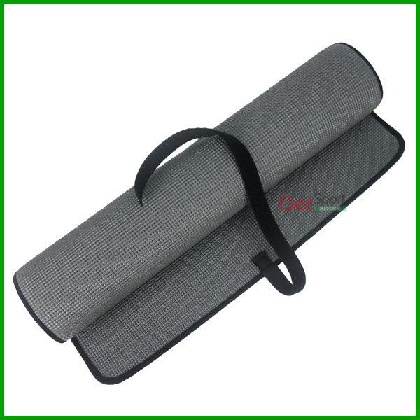 瑜珈墊(包邊鐵灰)(6mm/止滑瑜伽墊/運動墊/台中市)