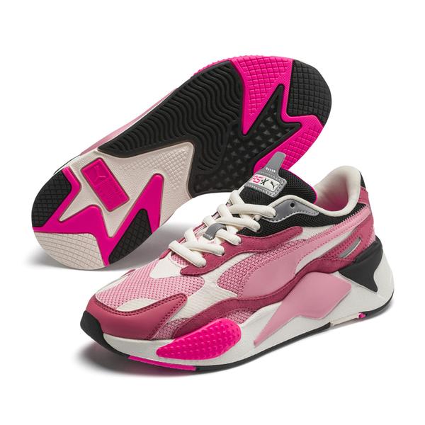 Puma RS-X Puzzle 白粉 男女 運動鞋 老爹鞋 慢跑鞋 鋼彈 厚底 休閒鞋 慢跑鞋 37157006