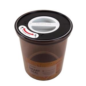 韓國NEOFLAM聰明封儲物罐AS抗菌遮光/圓形/1100ml