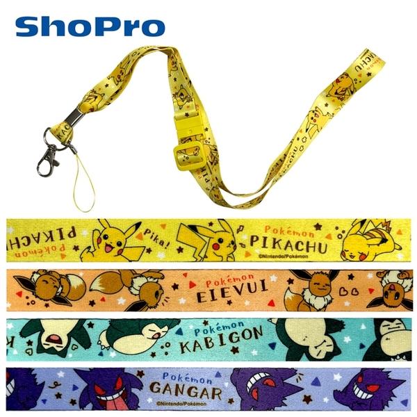 【日本正版】寶可夢 頸掛繩 手機頸掛繩 手機掛繩 證件套掛繩 神奇寶貝 133901 133918 133925 133932