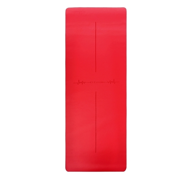 Clesign - Pro Yoga Mat - Follow The Heartbeat 瑜珈墊 4.5mm - Heart Red