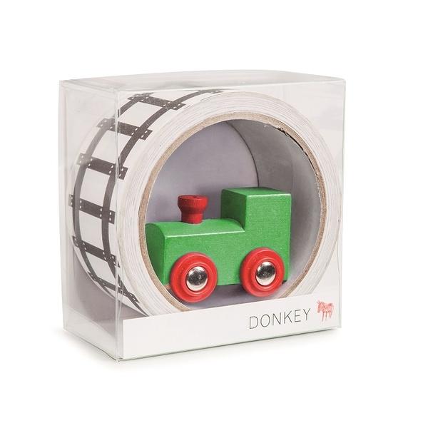 兒童趣味鐵路紙膠帶- 小火車 - Donkey Products