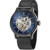 【Maserati 瑪莎拉蒂】/鏤空機械錶(男錶 女錶 手錶 Watch)/R8823118002/台灣總代理原廠公司貨兩年保固