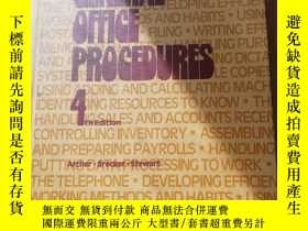 二手書博民逛書店GENERAL罕見OFFICE PROCEDURES 4Y273911 cregg