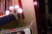 【99購物85折】補光燈視頻LED燈泡化妝燈