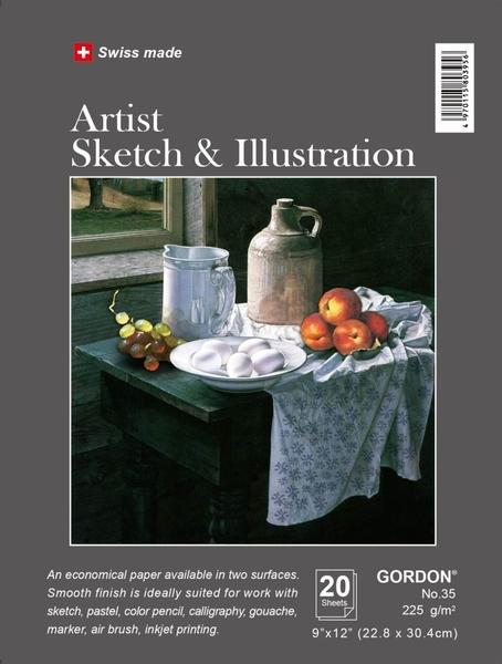 GORDON *35 瑞士專業素描/插畫本