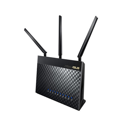 華碩 RT-AC68U 雙頻無線 AC1900 Gigabit 路由器◤雙12下殺 $3599◢