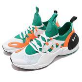 Nike 武士鞋 Huarache E.D.G.E. TXT QS 綠 橘 全新系列 男鞋 運動鞋【PUMP306】 BQ5206-100