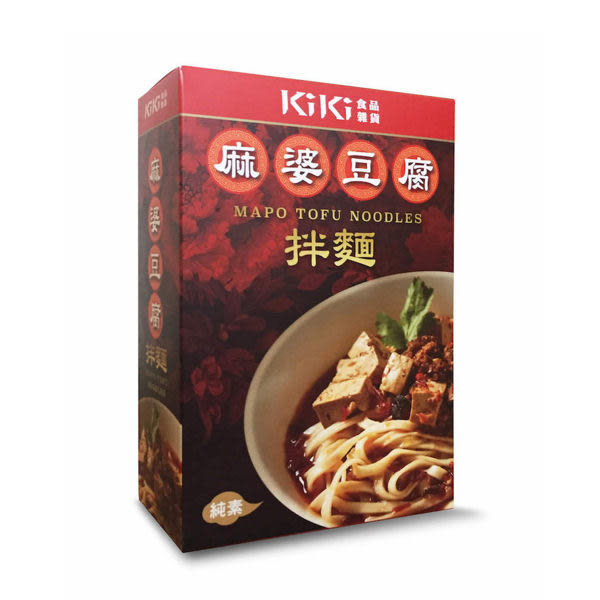【KiKi食品雜貨】麻婆豆腐拌麵 (麻婆豆腐包320g+麵條80g) 純素 (購潮8)