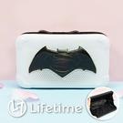 ﹝超級英雄硬殼旅行化妝包﹞7-11集點 化妝包 硬殼包 收納 蝙蝠俠 超人〖LifeTime一生流行館〗
