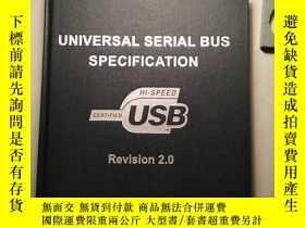二手書博民逛書店Universal罕見Serial Bus Specificat