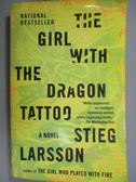 【書寶二手書T1/原文小說_NEV】The Girl With the Dragon Tattoo_Larsson, Stieg