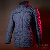 【ST.MALO】【新上市】追擊極地蓄暖羊駝男外套-1762MJ-夜藍色