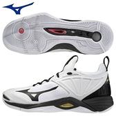 MIZUNO WAVE MOMENTUM 2 男鞋 排球 包覆 ENERZY中底 透氣 耐磨 白【運動世界】V1GA211209