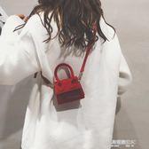夏天小包包女新款韓版磨砂復古百搭ins超火包迷你斜背手提包  凱斯盾數位3C