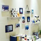客廳照片墻相框墻創意組合客廳臥室兒童房地中海相框裝飾簡約掛墻