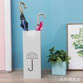 創意鐵藝雨傘架 大堂家用雨傘桶收納桶落地傘收納架子歐式傘架 BT10001【大尺碼女王】