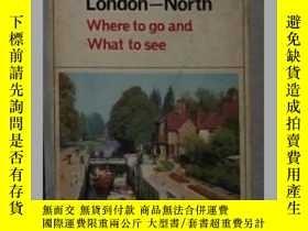 二手書博民逛書店英語原版罕見《 OUT AND AROUND LONDON -