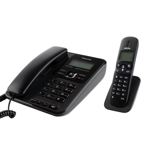 ◆PHILIPS◆ 飛利浦 2.4GHz子母機數位無線電話(DCTG182B/96)