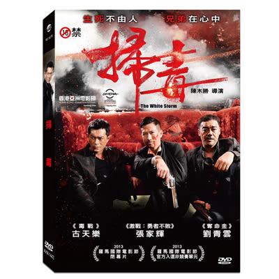 掃毒DVD 劉青雲/古天樂 -未滿18歲禁止購買