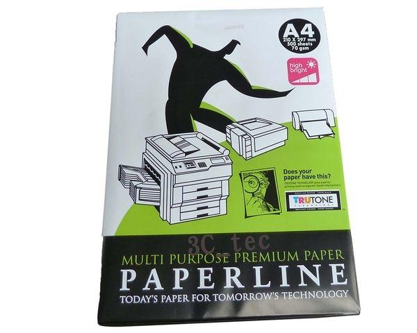 影印紙 A4 Paper Line PaperLine 70g 70磅 單包 影印機專用 整箱賣 3C事務資訊台銀採購館