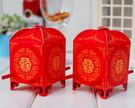 (免費摺喜糖盒)大紅花轎喜糖盒喜糖盒,婚禮小物/80份