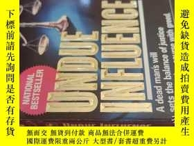 二手書博民逛書店【英文原版】Undue罕見Influence ( 如圖)Y25633 Shelby Yastrow Ivy B