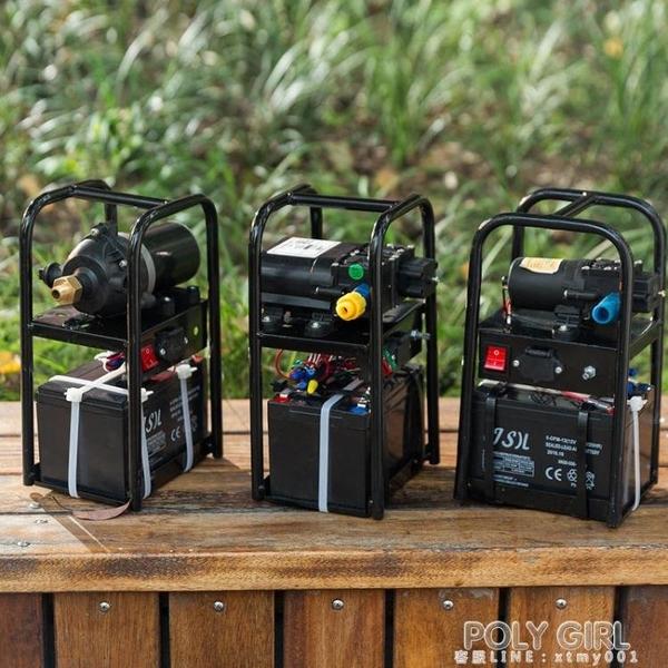 農用高壓小型鋰電池手提式電動噴霧器新式消毒充電打藥智慧噴霧機 ATF poly girl