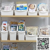 YAMADA日本進口帶滑輪櫥柜收納籃置物架下水槽收納架廚房收納盒筐【happybee】